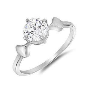 Solitaire CVD 1.50 carat diamond Anniversary ring